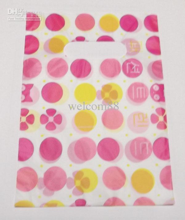 95 stks / partij Mix Stijl Plastic Sieraden Pouches Tassen Verpakking Display voor Winkelen Gift 5.2 * 7.5 inch WB33
