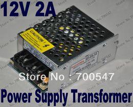 Wholesale Dc 12v Transformer - SVC89 110V-240V Input DC 12V Output 2A 24W Universal Adapter Power Supply Transformer LED Driver For LED Strip Light