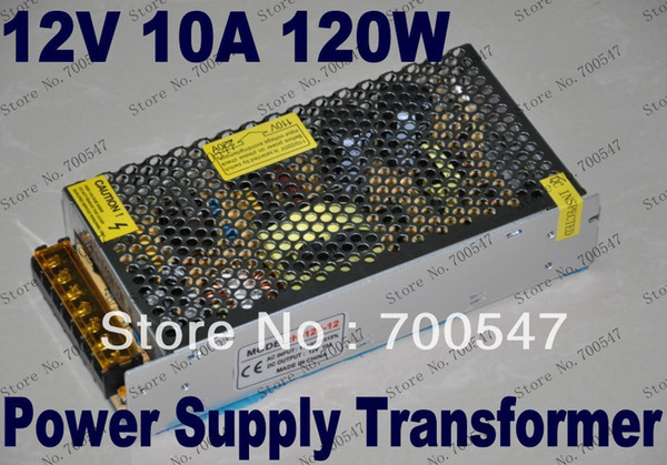 SVC94 12 V 10A 120 W 110 V / 220 V AC Adaptör Işıkları Led Şerit için Güç Kaynağı Trafosu Anahtarlama