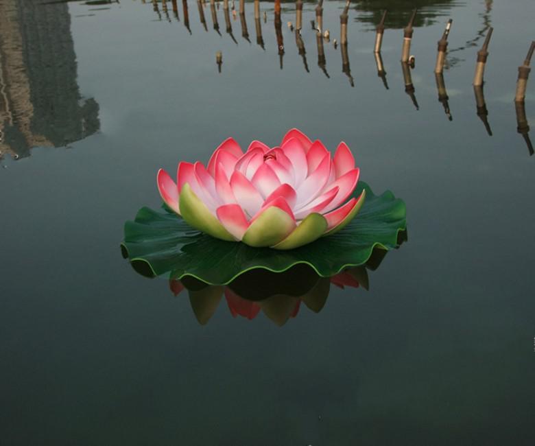 29 CM Diameter Big Size Artificial Simulation Lotus Flower for Wedding Decoration Home Decor Pink Red Purple Orange White