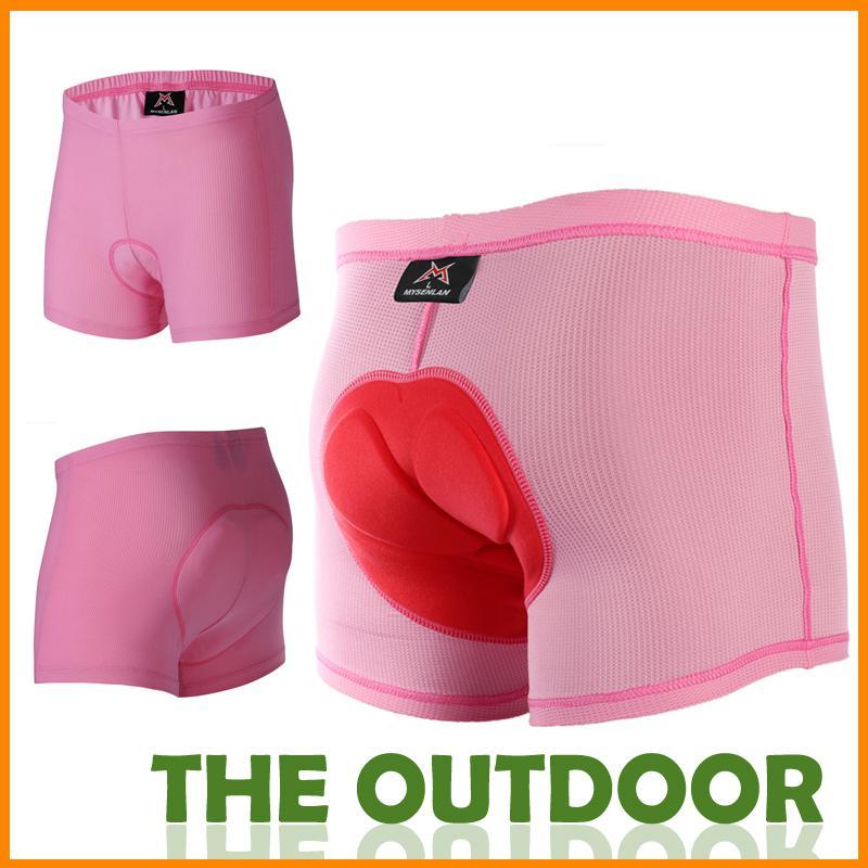 Bike Shorts For Women S 5size Pink Cycling Bike Trousers