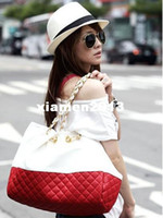 Wholesale Womens Leather Black Bag - New hotselling womens designer PU leather shoulder bag Diamond lattice totes handbags