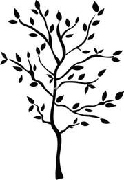 Calcomanías ramas online-RoomMates RMK1317GM Tree Branches Peel Stick Adhesivos de pared
