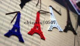 Wholesale Eiffel Bookmark - Vintage style Mini cute wooden Eiffel Tower bookmark gift bookmark   Free shipping