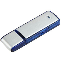 Wholesale Thumb Drives Gb - New 2in1 2 GB Go 2GB 2Go USB PEN memory drive + thumb Sensitive Digital Voice Voix Voz Recorder