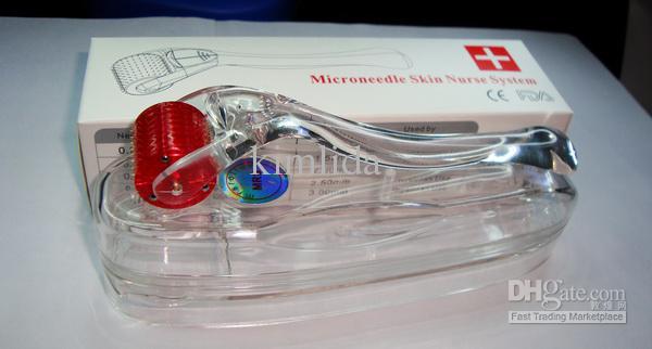 New MT MRS Titanium 200 needle Microneedle Derma Skin Meso Roller Dermaroller beauty roller, skin face body dermaroller derma pen