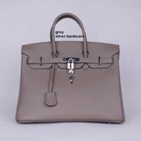 Wholesale Cheap Plain Tote Bags - Ladies Handbags New Women Bag Ladies Handbag Black 40CM Shoulder Bags Fashion Accessory Cheap Woman Handbags