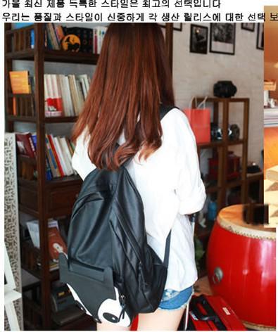 9a2a5e1f01b45 ... Ucuz Okul Çantası Sırt Çantası Stil Sevimli Tilki Pembe Kahverengi  Siyah Renk Mix Sipariş 1adet Ücretsiz ...
