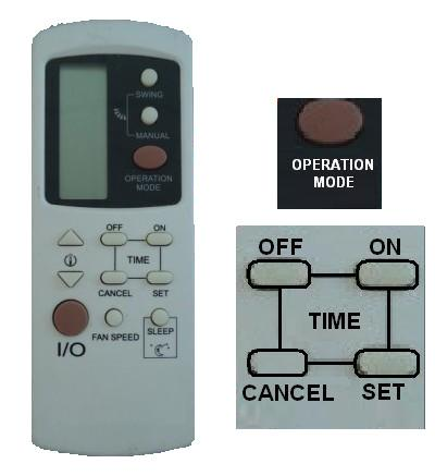 2019 Galanz Air Conditioner Remote Control Gz 1002b E3 Gz