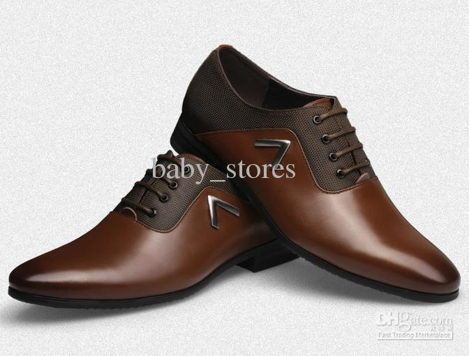 Hot Sale Mens Leather Shoes Wedding Shoes For Men New Style Men&39s