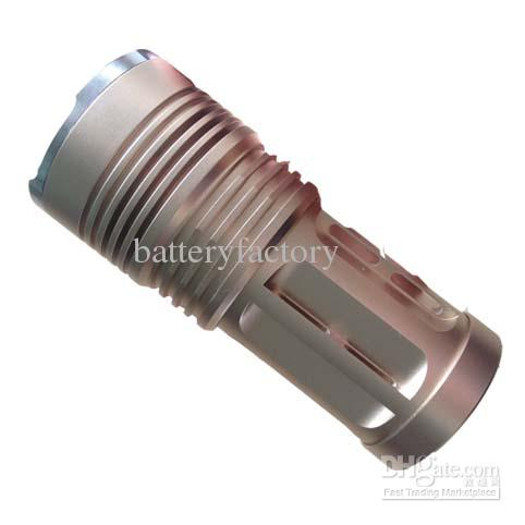 Super Bright Skyray King 6000 Lumen 4x CREE XM-L XML 4x T6 LED Flashlight Lamp High Power Torch