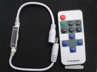 Wholesale Single 12v Led Bulbs - DC 12V 144w Single Color LED Controller Mini RF Wireless Strip Switch led lamp bulb light