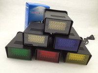 Wholesale Dj Flashing Lights - LED Flash lamp Party Disco Mini Strobe stage Light DJ Lighting 5 color for Choice