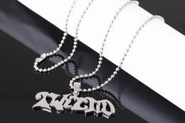 2019 pendente juggalo Moda Stati Uniti 316L gioielli grado Acciaio inossidabile Manson Twiztid charms ciondolo catena libera JUGGALO gioielli esecutore sconti pendente juggalo