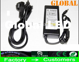 Wholesale Dc Adapter 12v 4a - 20pcs Transformer Power Supply for LED Strip 5630 5050 3528 SMD 100-240V DC 12V 2A 3A 4A 5A 6A 7A 8A 10A 12.5A Adapter Router HUB DHL Ship
