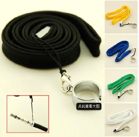 Factory price Necklace String/Neck Chain/Lanyard eGo,eGo-t,eGo-w,eGo-c eGo-vv ce4 vivi nova mt3 atomizer Electronic Cigarette E-cigarette