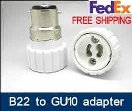 2019 bajonettlampe B22-GU10 Marke Neue B22 zu GU10 adapter LED-Licht adapter Lampe Adapter bajonett kappe zu gu10 adaper B22 / BC zu GU10 konverter GU10-B22 rabatt bajonettlampe