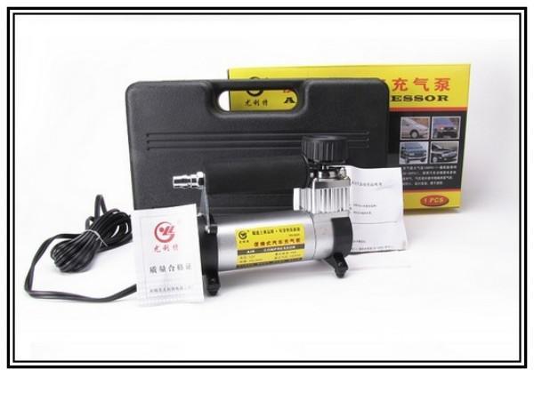 Hoge Kwaliteit Inflator Pump Air Pumps 12 V 150 W 140PSI 35L / Min Mini Draagbare Air Compressor Tyre Inflator Autoband Pomp Daling