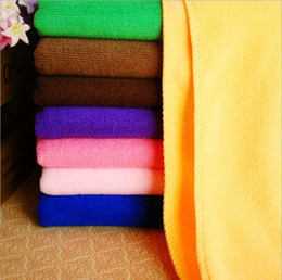 Wholesale Car Yellow Sport Light - 30pcs towel set Soft washing car Towel Microfibre Absorbent Cloths Drying Cloth for hotel sport Outdoor Two 30*70CM & One 70*140cm