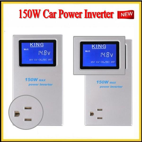 2013 good quality Intelligent vehicle inverter 12 v to 220 v Car power converter