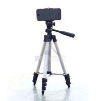 Wholesale Digital Camera Holders - Portable Mini Tripod + Universal Antiskid Smart Phone Clamp Cellphone Holder for iPhone Samsung HTC Digital Camera