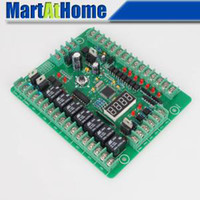 Wholesale Relay Driver - Free Shipping Programmable Logic Controller PLC Module PWM Stepper Motor Driver Relay Board #SM536 @CF