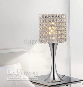 2017 Minimalist Modern Fashion K9 Crystal Table Lamp Decorative Lamp  Creative Art Lamp Bedside Bedroom Living Room Lighting From Tinger3280, ...