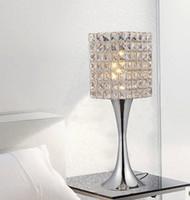 Wholesale Free Bedside Table - Free shipping minimalist modern fashion K9 crystal table lamp decorative lamp creative art lamp bedside bedroom living room lighting