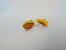 Wholesale Rainbow Sunglasses - 2013 Brand-new sunglasses,Golden frame Rainbow glass lens for Women's and Men's sunglass Size 62mm Glasses