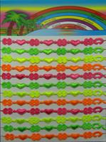 Wholesale Italy Flower Bracelet - handmade multi colors italy lace macrame bracelet jewelry for women clover&heart design