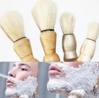 Wholesale Vintage Mustache - 2 pcs lot Cleaning brush brush brush mustache vintage shaving soap brush 2 size