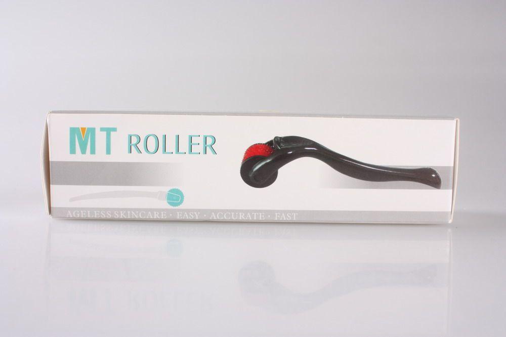 Dermaフェイスローラー540針0.2mm-3mm 100ピン/ロット卸売MTゲルマニウムローラー、ゲルマニウムフェイスローラーDHL送料無料