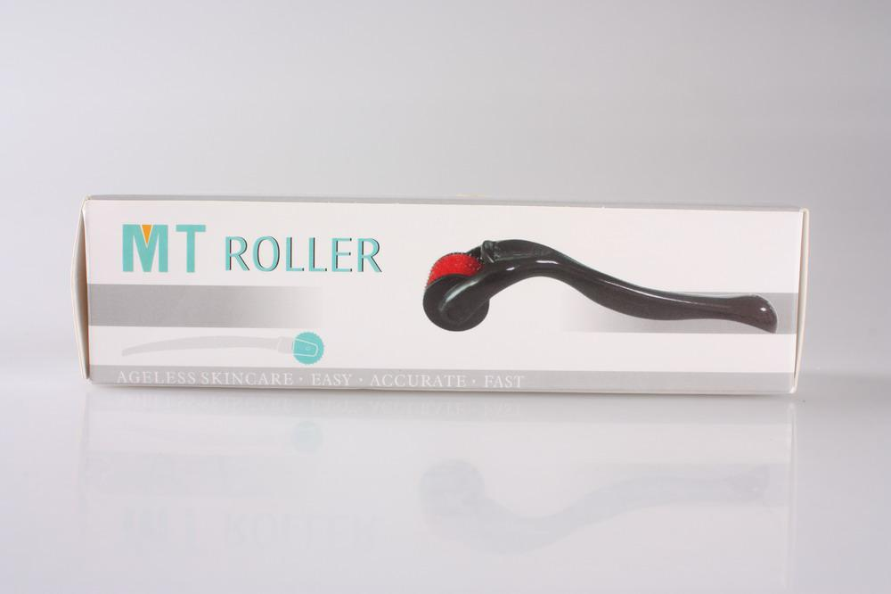 Derma Face Roller 540 Nålar 0,2mm-3mm / grossist Mt Germanium Roller, Germanium Face Roller DHL Gratis frakt