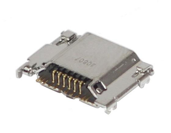 Data Dock Connector Oplaadpoort Vervanging voor Samsung I9300
