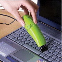 мини-пылесос для пк оптовых-Пылесос MINI USB Вакуумный очиститель клавиатуры для ПК Портативный компьютер пылесос для очистки клавиатуры