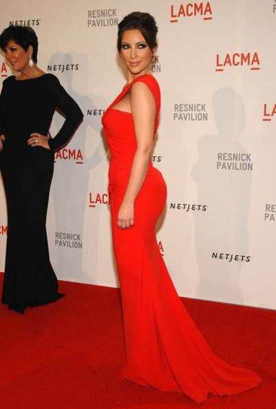 ZSD-011 kim kardashian hot red mermaid evening dresses one shoulder pleat chiffon prom gowns