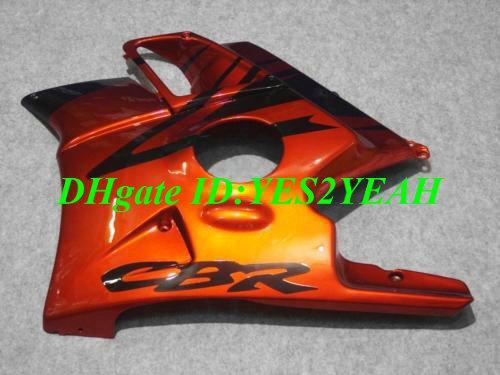 طقم أدوات التثبيت لهوندا CBR600F2 91 92 93 94 CBR 600F2 CBR600 هيكل السيارة CBRF2 1991 1992 1993 1994 برتقالي أسود Fairings kit HG26