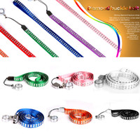 Wholesale Ego Lanyard Crystal - Good quality Multi-color eGo necklace nice Crystal Lanyard with Steel Ring for EGO Series Electronic Cigarette Battery