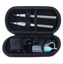Wholesale Ecig Starter Sets - Ego CE4 Starter Kit E-Cigarette kits Ecig kits ego battery 650mah 900mah 1100mah double Cigarettes Zipper case Various colors 30pcs DHL ship
