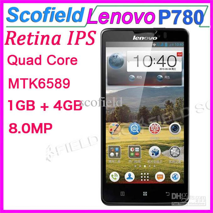 Lenovo P780 Android Cell Phone 5.0