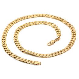 14k cadeia de ligação do freio cubano Desconto Marcas de modaClássicos Homens 14 k fivela de cristal de Ouro Sólido Cuban Elo Da Cadeia Real Banhado Curb Colar de Ouro é de cerca de 30% ou mais
