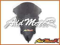 Addmotor Windshield para Yamaha YZF R1 YZF-R1 2009 2010 2011 2012 09 10 11 12 Double Bubble Black Windscreen WS3014