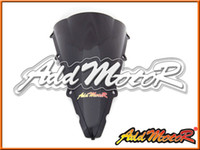 Parabrisas Addmotor para Yamaha YZF-R1 YZF R1 2002 2003 02 03 Double Bubble Black Windscreen WS3029