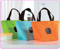 Wholesale Zipper Tableware - Free shipping lunch bags  picnic bag Portable outdoor heat preservation Fresh bag with tableware