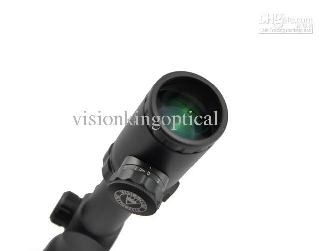 Envio Grátis! Visionking 1-12X30 Tactical Mil-Dot Range Accurive Accurive Grande Zoom Revendedor Caça 30mm Rifle Escopo Novo