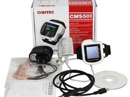 Wholesale Finger Blood Oxygen Monitor - Digital wrist pulse oximeter spo2 monitor finger probe blood oxygen free wireless transmitter receiver of bluetooth CMS50IW