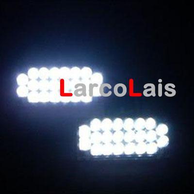 TR 2×22 LEDストロボの点滅グリルライト緊急警察の消防士ライトレッドブルーアンバーホワイトDLCL8606