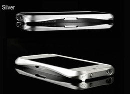 Wholesale Aluminum Cleave - Deff Cleave Aluminum Metal Case Bumper Shell Frame Case for iphone 4 4G 4S