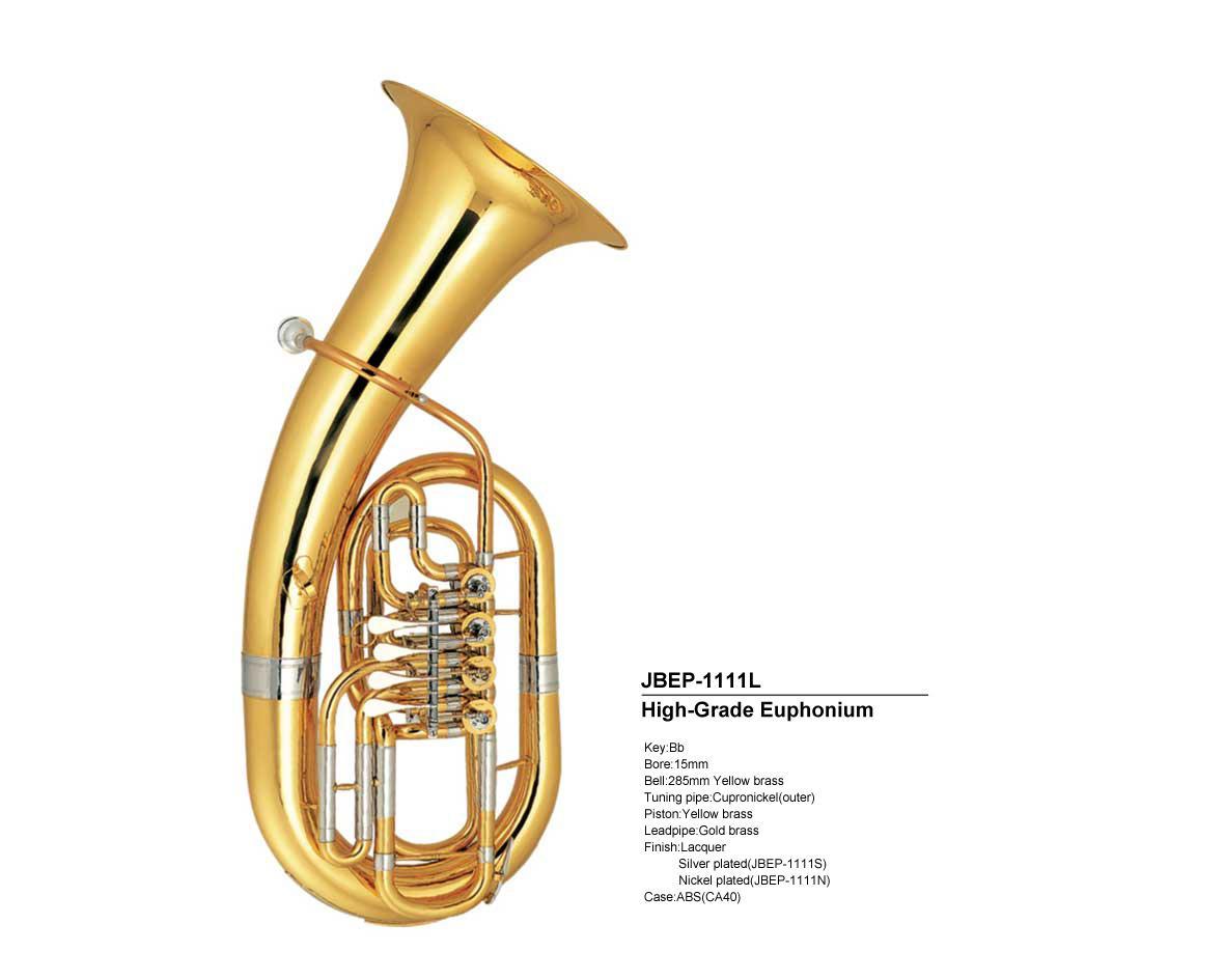 Op maat gemaakte hoogwaardige euphonium JBEP-1111 JINBAO