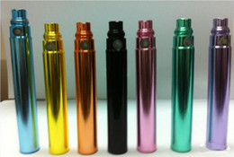 Wholesale Ego Coloful Battery - New Design Coloful Battery 650mah 900mah 1100mah for E-Cigarette for E-Cigarette Ego-T, Ego-K,Ego-W, etc Janet